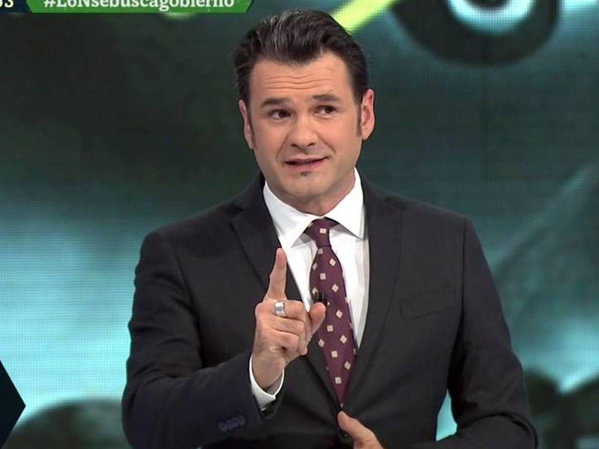 Foto: Iñaki López, en 'La Sexta noche'. (Atresmedia).