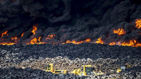 En libertad el presunto autor del incendio de los neumáticos de Seseña