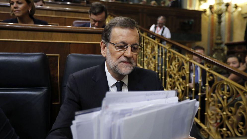 Foto: El candidato a la investidura, Mariano Rajoy. (EFE)