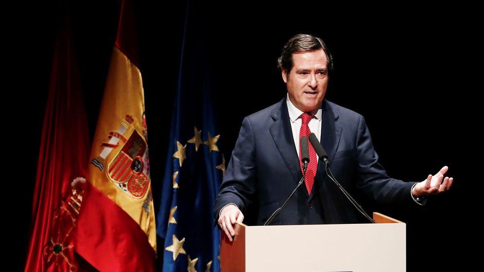 Foto: El presidente de la Confederación Española de Organizaciones Empresariales (CEOE), Antonio Garamendi. (EFE)