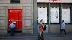 Santander pone duros objetivos a la red del Popular para retener a los 'pillados'