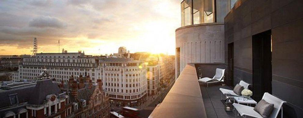 Foto: Descansar en un icono del diseño en Londres bajo la batuta de Norman Foster