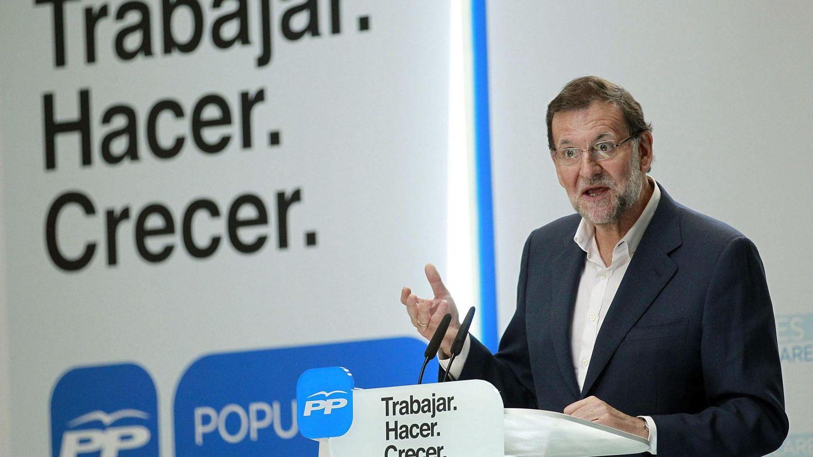 Foto: El presidente del Gobierno, Mariano Rajoy. (EFE/Cristóbal García)