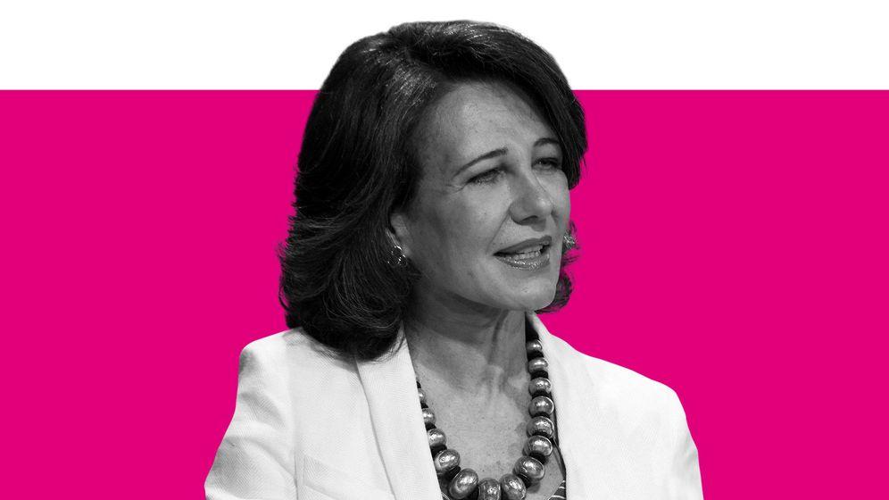 Foto: Ana Botín, presidenta del Banco Santander.