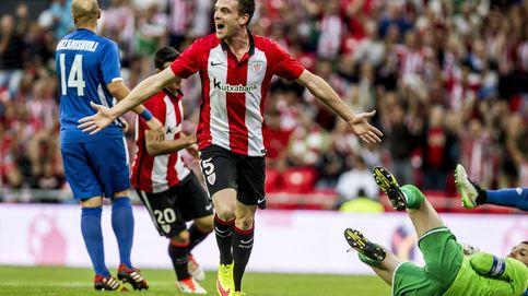 Eraso enamora a La Catedral en el estreno del Athletic en la Europa League