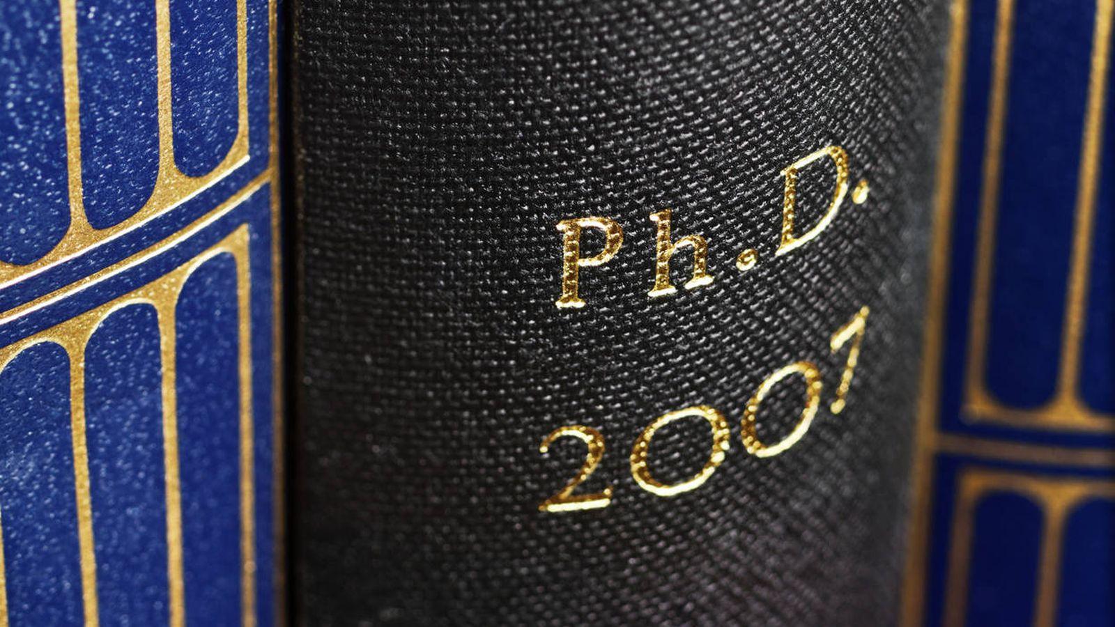 Foto: Una tesis de 2007, en el año 13 después de la popularización de internet. (iStock)
