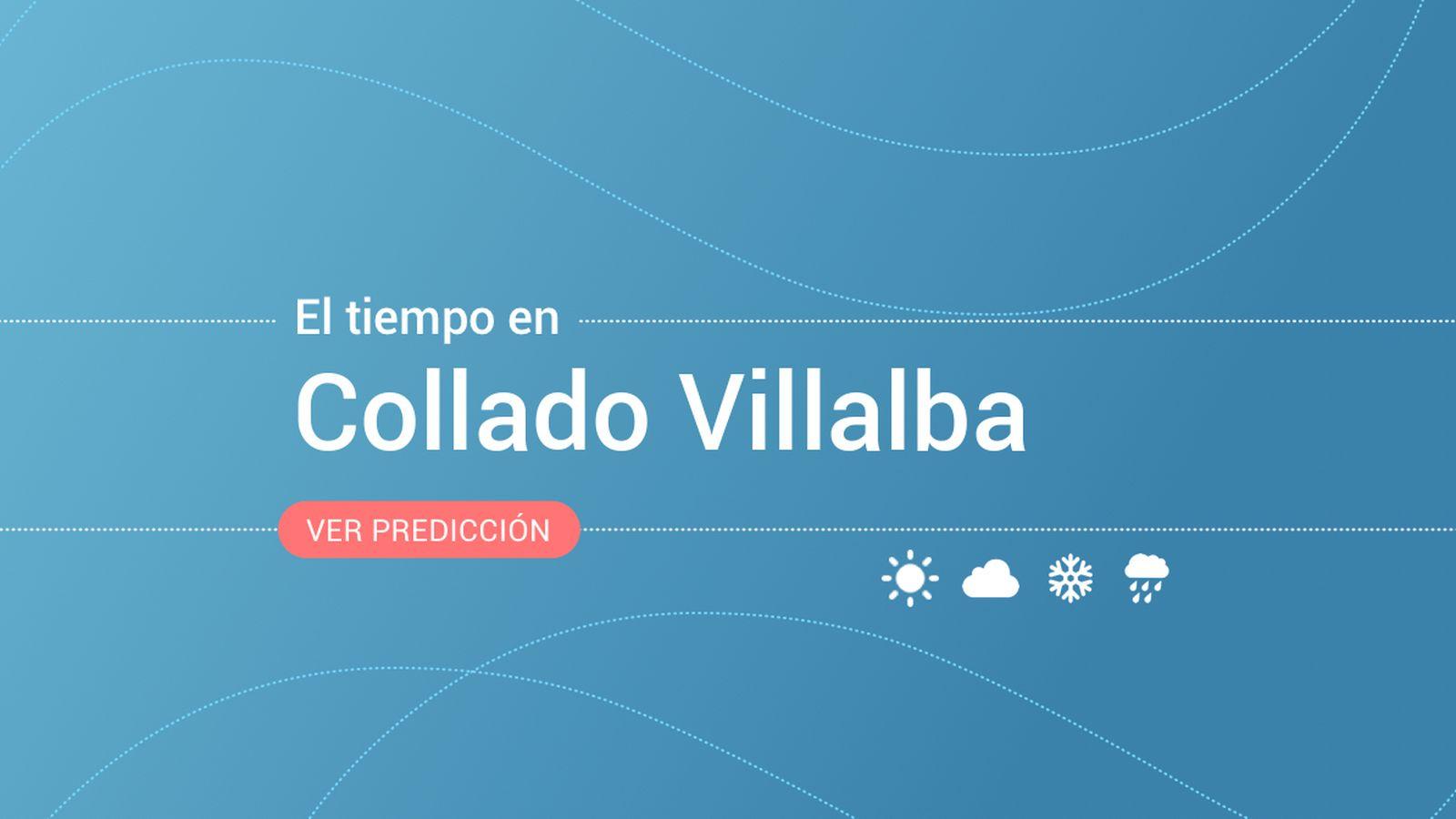 Foto: El tiempo en Collado Villalba. (EC)
