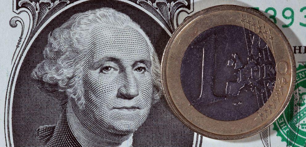 Foto: Draghi engrasa la maquinaria para que el euro y el dólar intercambien sus papeles