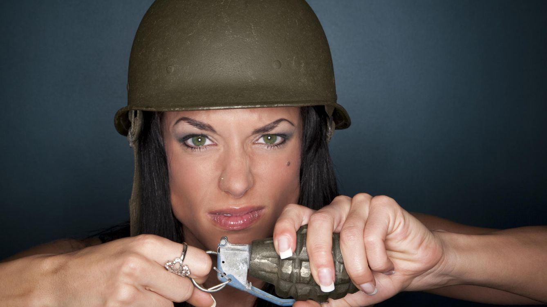 Foto: 'Esto es la guerra'. Y ojo, porque lo puedes pasar muy mal. (iStock)