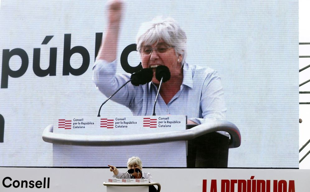Foto: La eurodiputada Clara Ponsatí. (EFE)