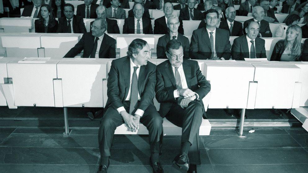 Rajoy se harta de los empresarios: al PP rogando y con el cambio dando