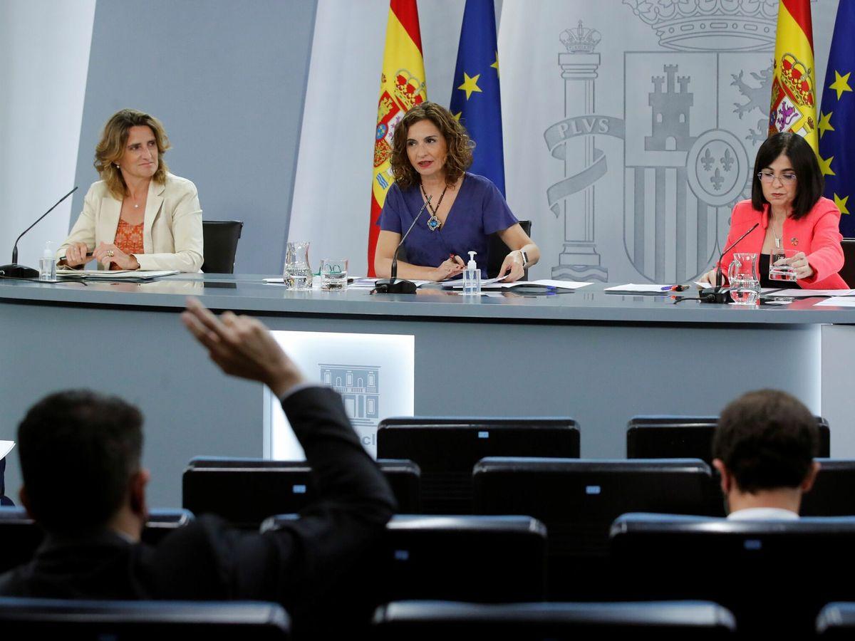 Foto: Consejo de Ministros extraordinario. (EFE)
