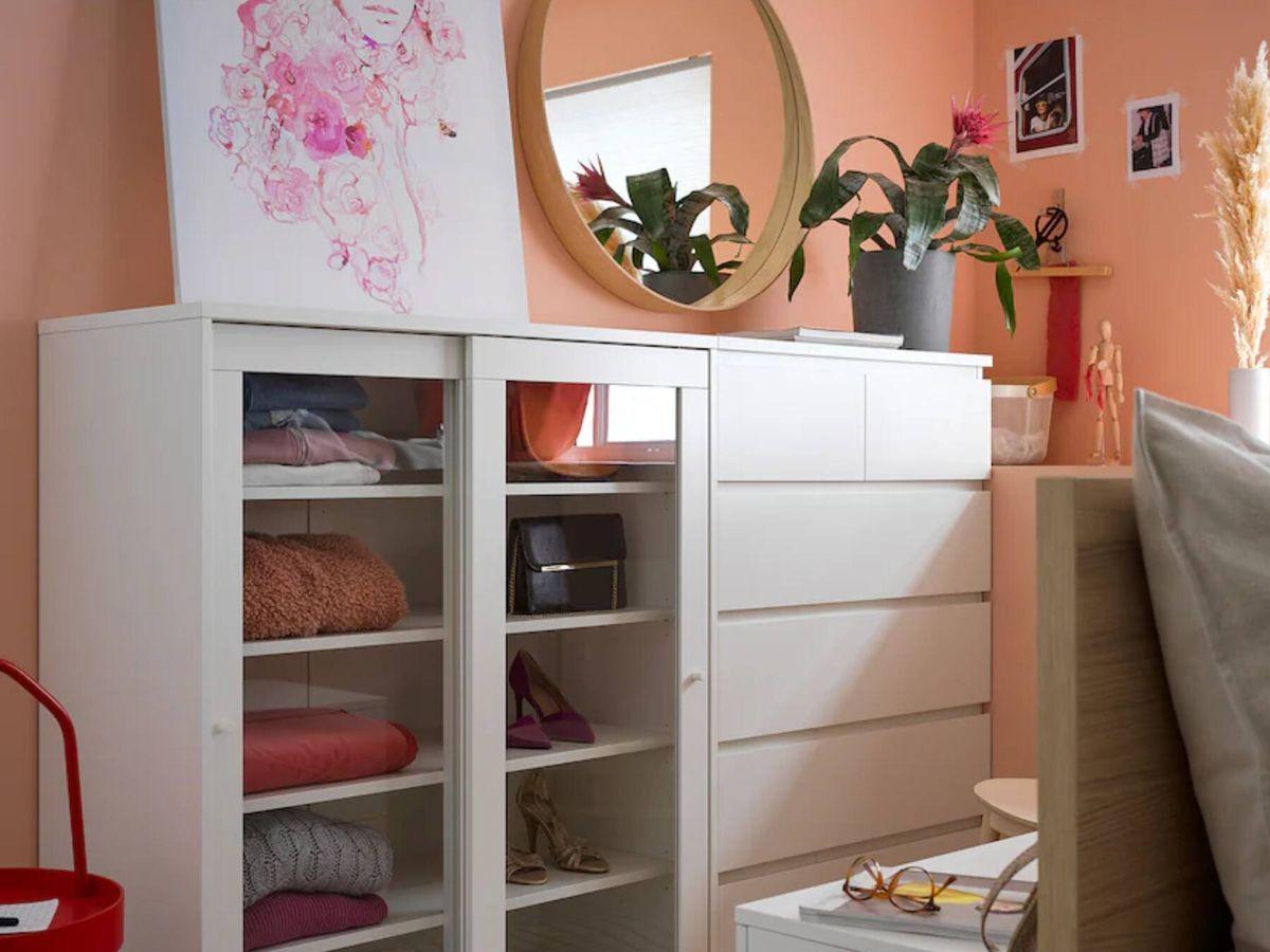 Foto: Este mueble de Ikea es ideal para todas las habitaciones de la casa. (Cortesía)