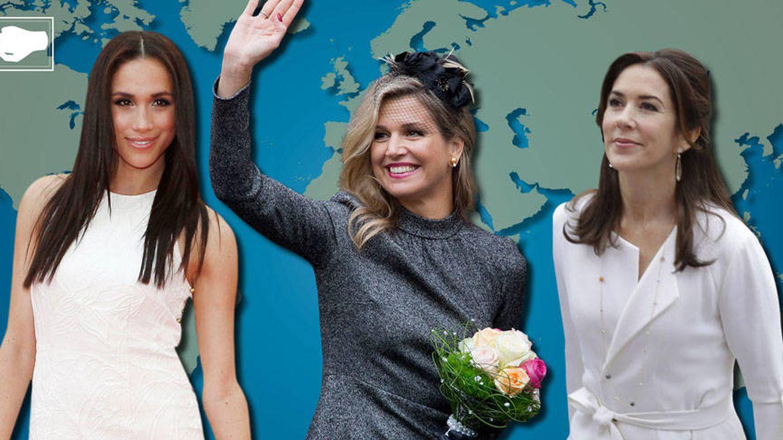 Cuba, Estados Unidos o Australia... ¿De dónde vienen las damas de la realeza?