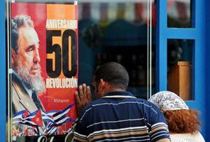 Cuba celebra los 50 años de la revolución