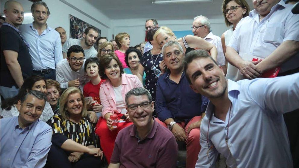 Vallecas: la 'aldea gala' de Soraya en una capital que es territorio Casado