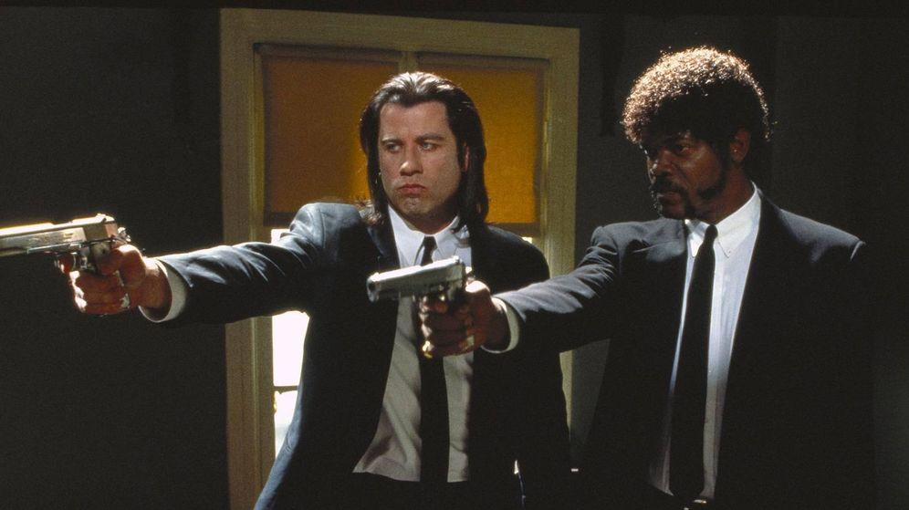 Foto: John Travolta y Samuel L. Jackson en una escena de la película | Miramax