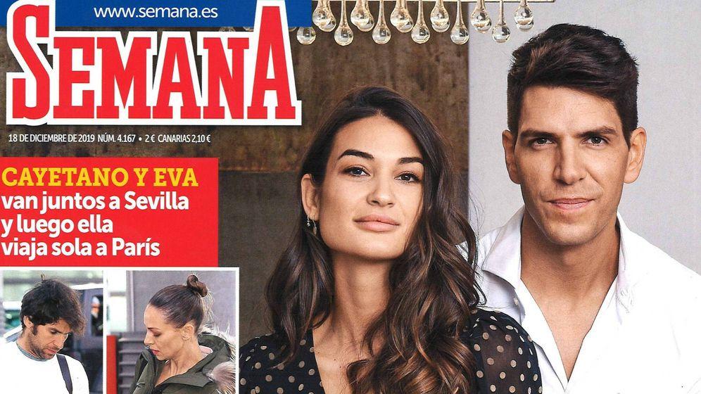 Foto: Estela y Diego Matamoros en la portada de la revista Semana