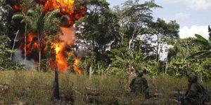 Foto: Las FARC anuncia el fin de los secuestros y liberará a todos los rehenes