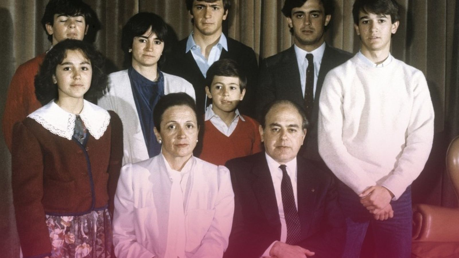 Foto: Fotografía de archivo de la familia Pujol.
