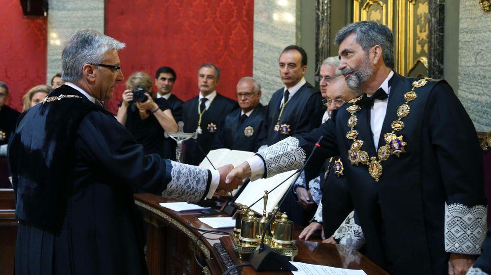 Foto: Lesmes y Picazo, en el nombramiento de este último. (EFE)