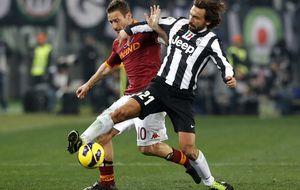 La Roma quiere apretar el 'Scudetto' ante una Juventus que siempre tiene ayudas