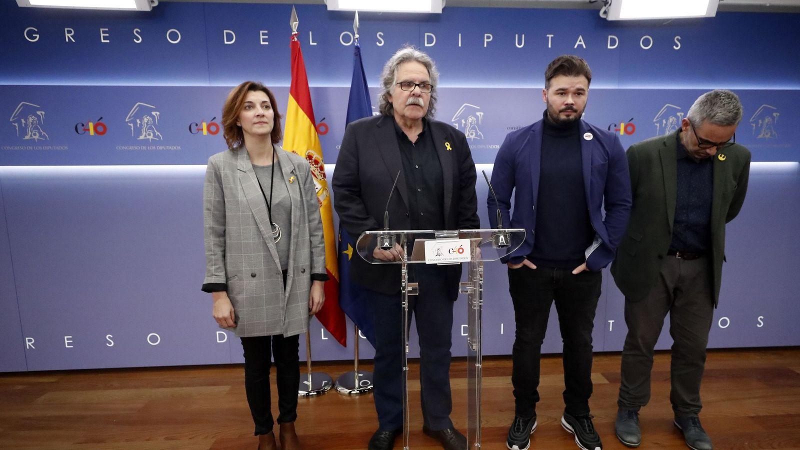 Foto: Erc formaliza su enmienda a la totalidad de los presupuestos de Sánchez. EFE