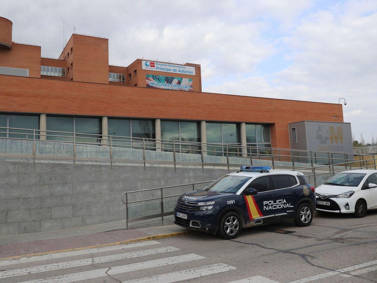 Foto: El Hospital Príncipe de Asturias (Alcalá de Henares). (EFE)