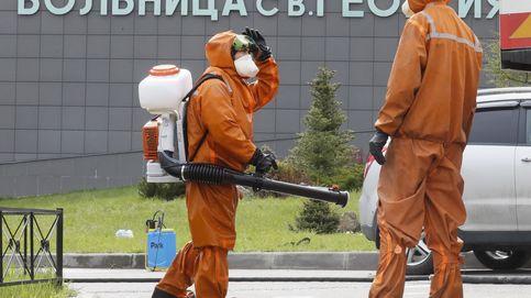 Rusia registra 2.212 muertes y supera los 242.000 contagios tras registrar otros 10.028