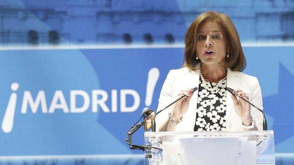 La plana mayor del PP, salvo Aguirre, acude a la despedida de Botella