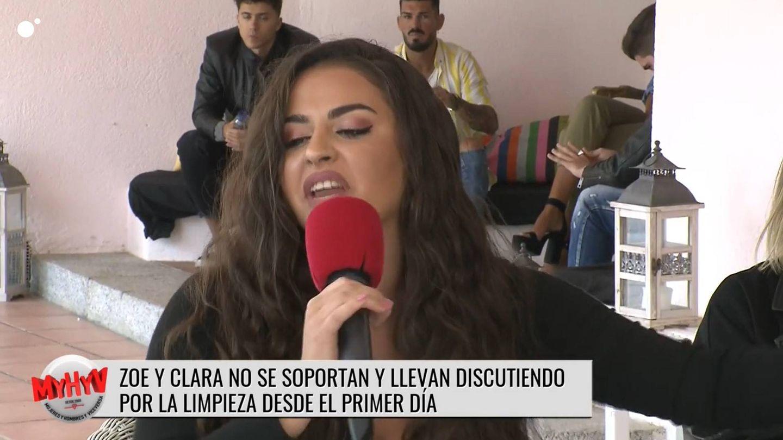 Clara, pretendienta de 'MYHYV?. (Mediaset)