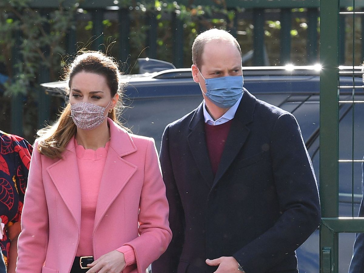 Foto: Los duques de Cambridge, este jueves. (Reuters)