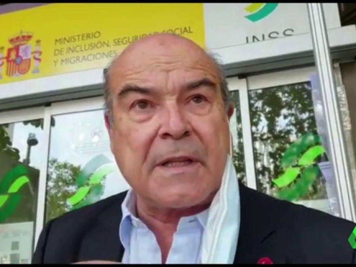 Foto: Antonio Resines, en 'La Sexta noticias'. (La Sexta)