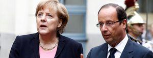 Merkel y Hollande abordan la supervisión bancaria europea