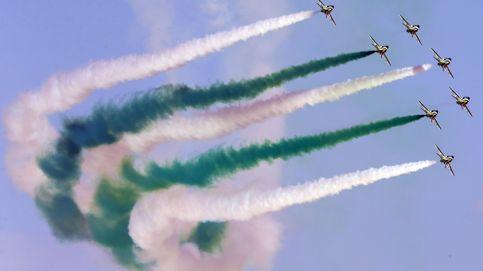 Espectáculo de acrobacias aéreas de Dubai