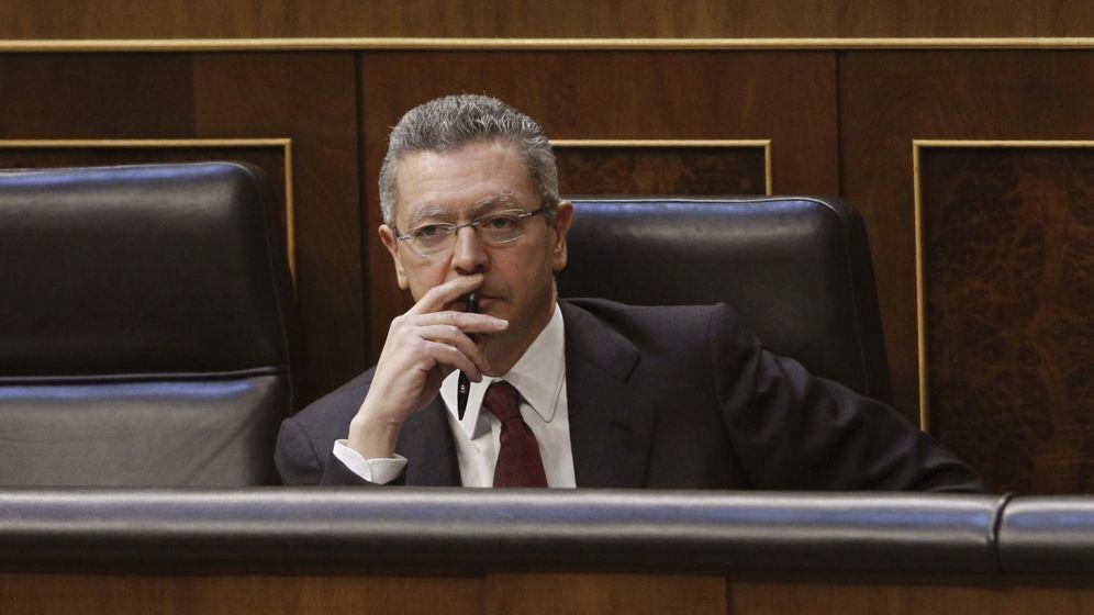 Foto: El ministro de Justicia, Alberto Ruiz-Gallardón (Efe)