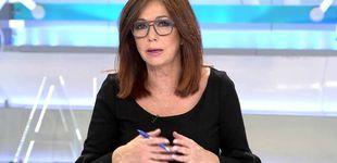 Post de Ana Rosa Quintana entrevista, acompañada de niños, a Pablo Casado