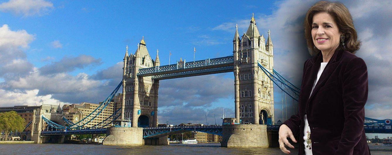 Foto: Ana Botella estará unos meses en Londres
