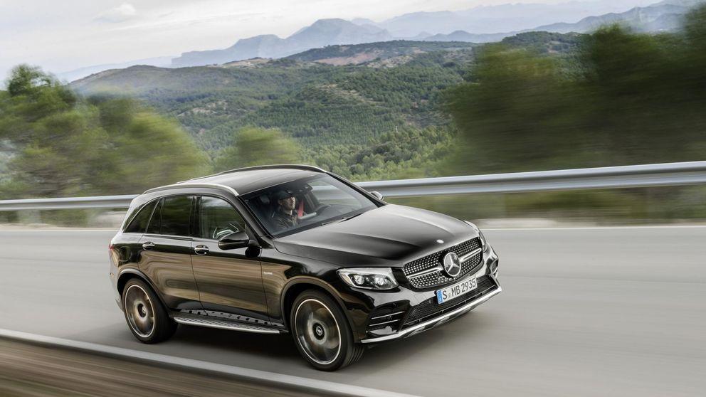 Motor de 367 CV para el todocamino compacto de Mercedes