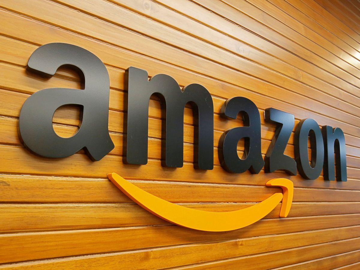 Foto: Logo de Amazon. (Reuters)