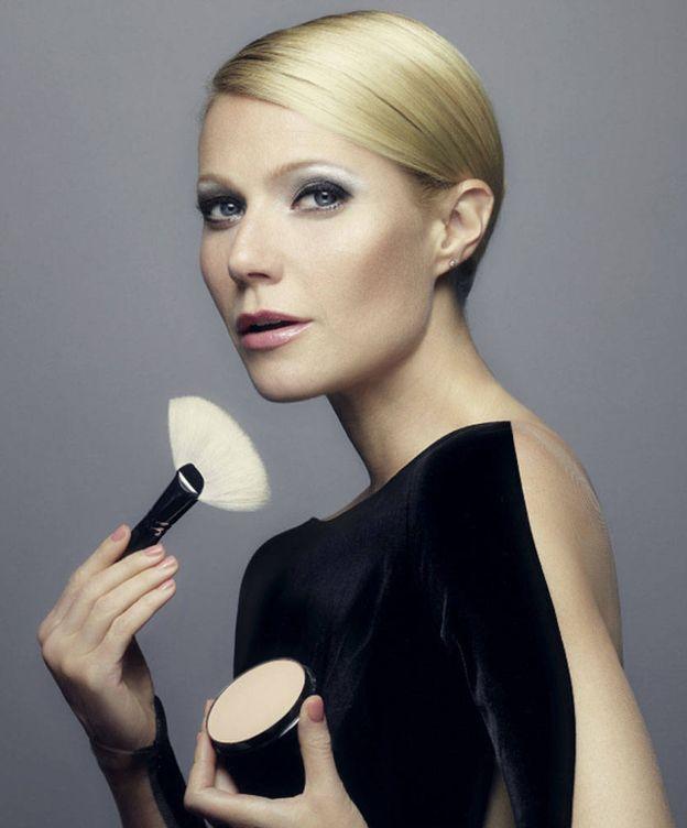 Foto: La actriz Gwyneth Paltrow como imagen publicitaria de la firma de cosmética Max Factor