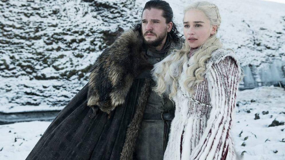 Foto: Jon Snow y Daenerys Targaryen en la última temporada de 'Juego de Tronos'. (HBO)