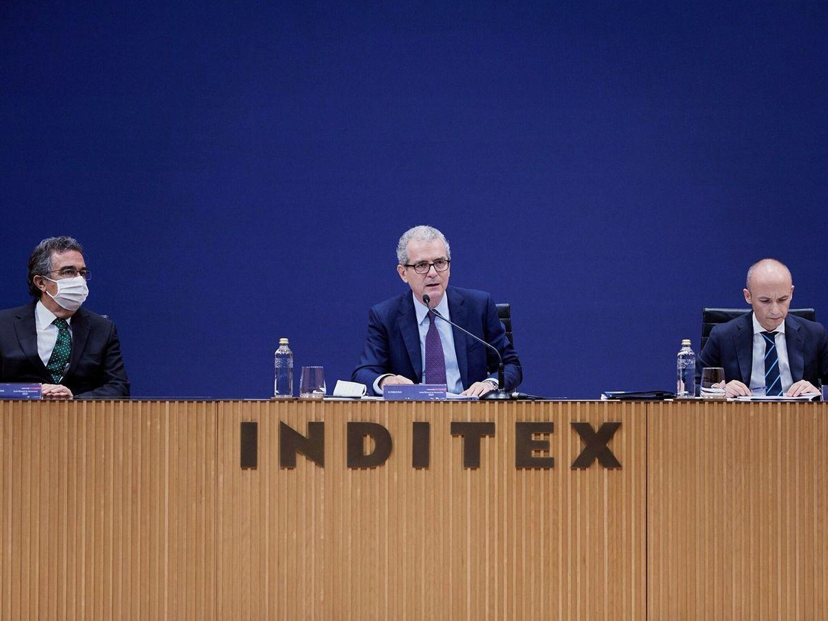 Foto: Junta general de accionistas 2021 de inditex