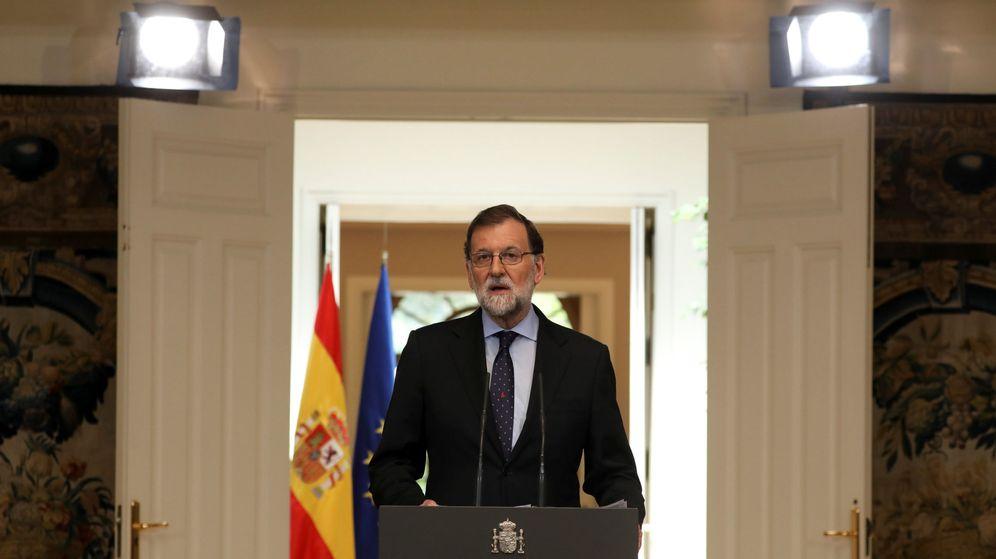 Foto: Mariano Rajoy durante su declaración. (Reuters)