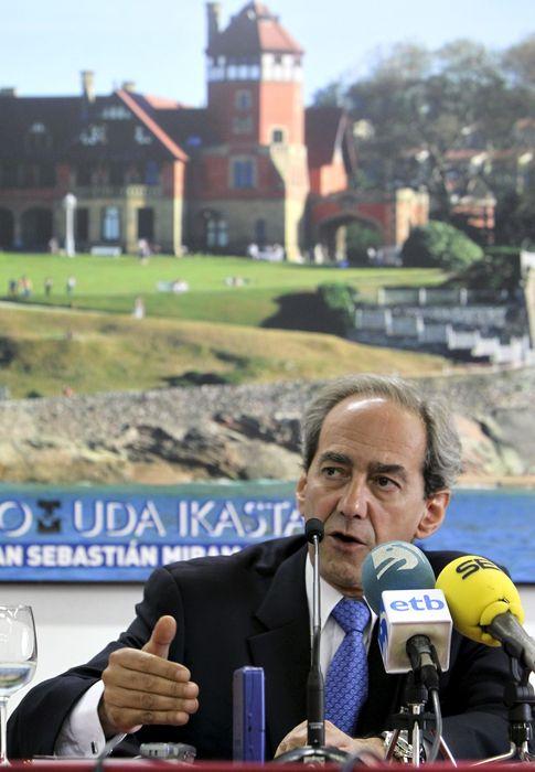 Foto: El exmiembro del Comité Ejecutivo del Banco Central Europeo Juan Manuel González-Páramo. (EFE)