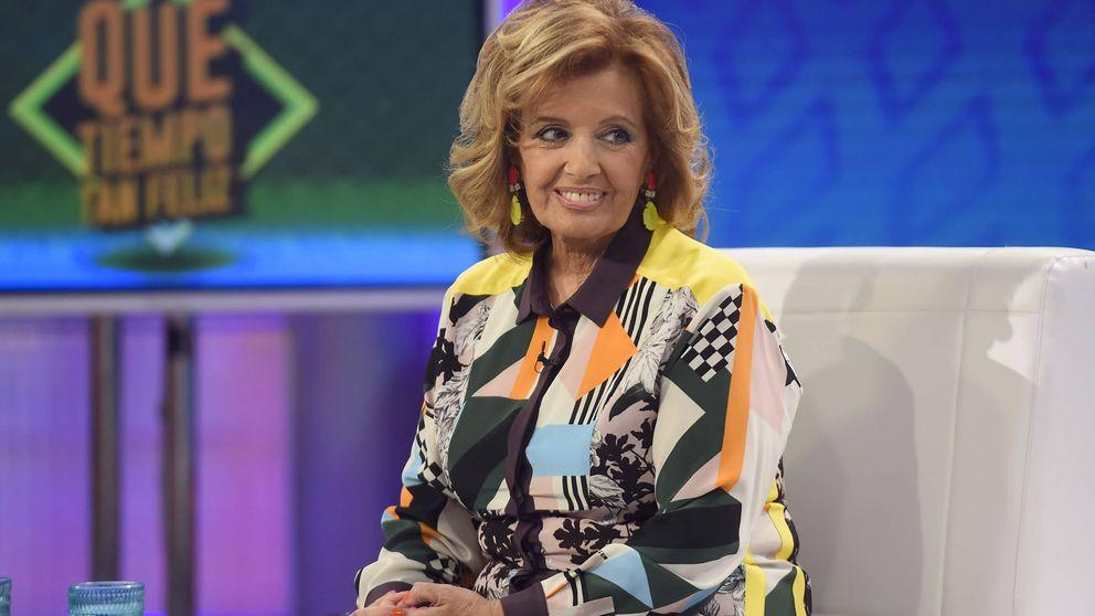 María Teresa Campos a punto del desmayo, en pleno programa