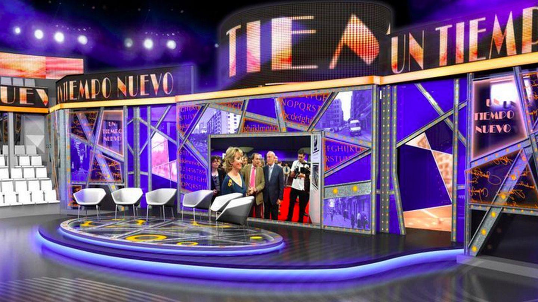 Así será el plató de 'Un tiempo nuevo' de Telecinco