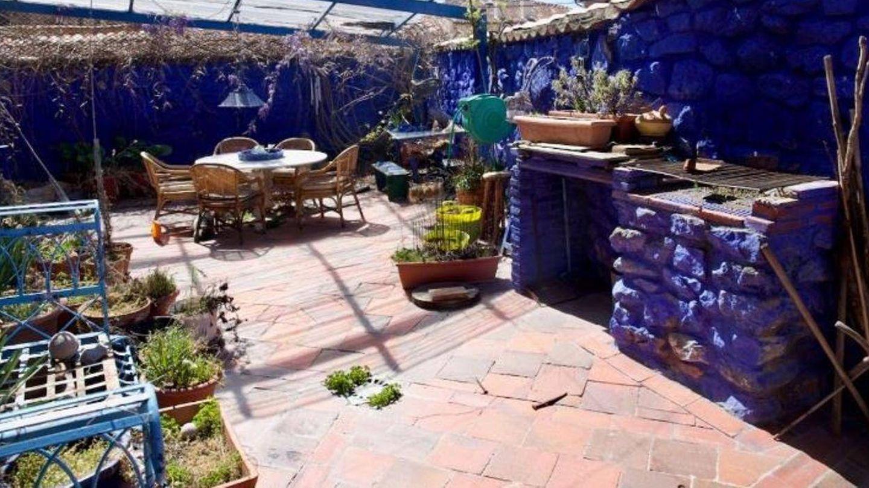 El patio de la casa. (Idealista)