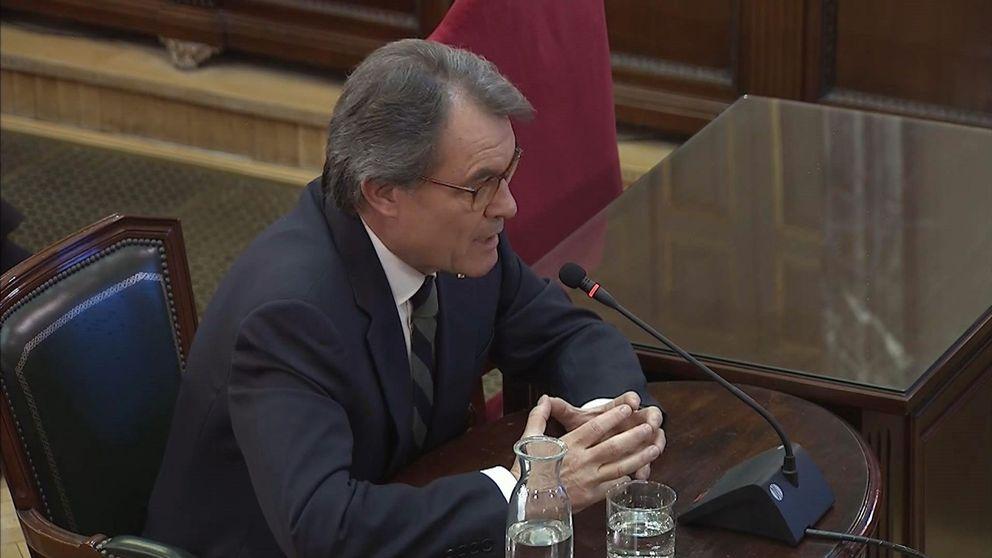 Las frases de Mas en el juicio del 'procés': Puigdemont alteró la hoja de ruta