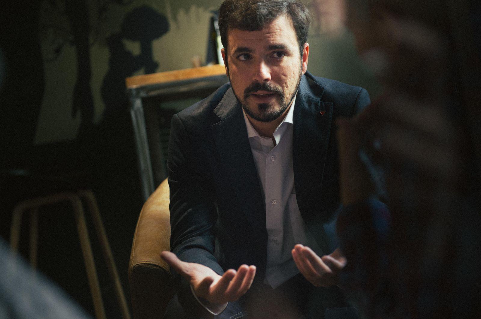 Foto: Alberto Garzón, candidato de IU a la Presidencia del Gobierno. (Foto: Pablo López Learte)